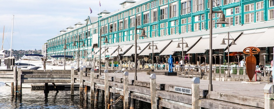 The Ovolo Woolloomooloo sits on Finger Wharf, one of the oldest timber wharfs in the world.