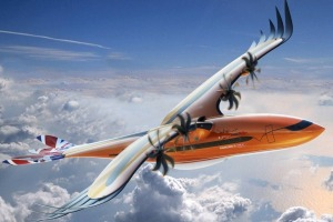 The design for a hybrid-electric, turbo-propeller aircraft for regional air transportation.