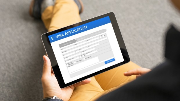 Authentic e-visa application sites are about as exciting as a brick.