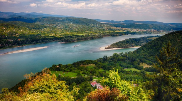 Visegrad, Pest County, Hungary.