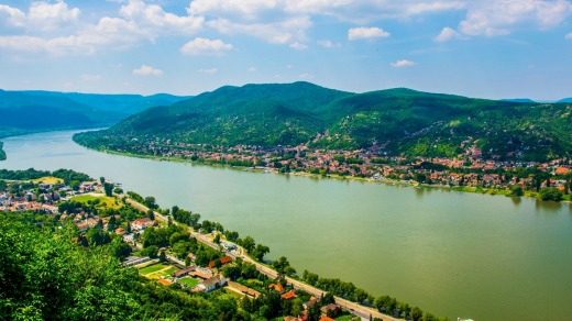Castles and canoeing on the River Danube.