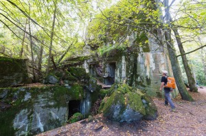 The Wolf's Lair, Hitler's World War II secret bunker.
