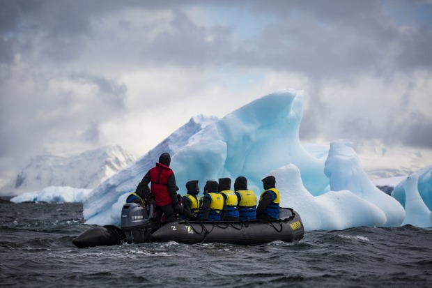 Getting a closer look with Aurora Expeditions.