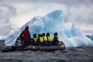 Aurora Expeditions in Antarctica.