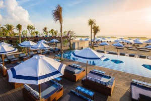 Manarai Beach Club at Sofitel Bali Nusa Dua Beach Resort.
