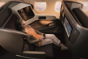 Is business class the answer to a perfect flight? Singapore Airlines business class on Boeing 777-300ER.