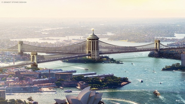 The Francis Ernest Stowe three way: The most radically different proposal came from Parramatta-based engineer Francis ...