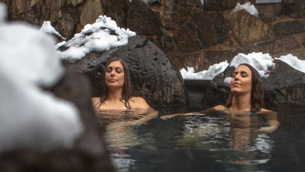 Onsen Spa in Mt Hotham.