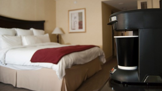 You could be charged extra for your room's rubbish coffee machine.
