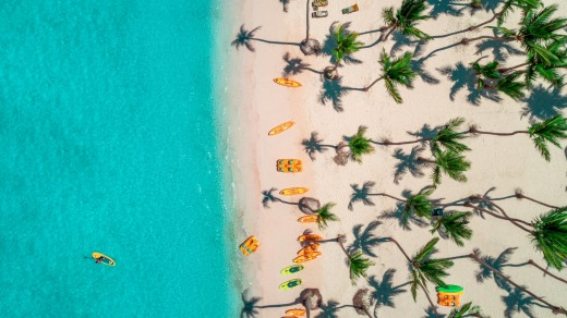 The Bahamas is another popular choice for the rich.