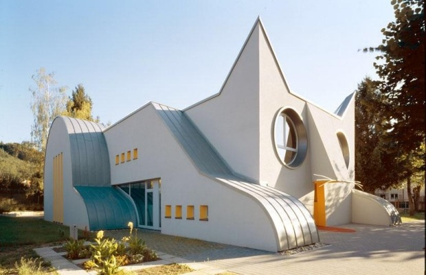 Kindergarten Wolfartsweier, Germany: The attention to detail in this kindergarten in Karlsruhe can only be admired. The ...