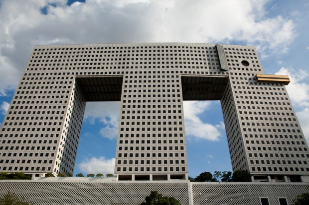 The Elephant Building, Bangkok: If there's a prize for the most pathetic piece of zoomorphic architecture, then the ...