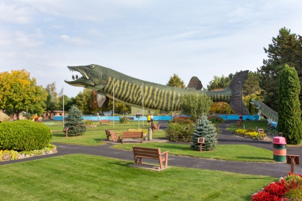 Freshwater Fishing Hall of Fame, Wisconsin: The centrepiece of this rather niche hall of fame in Hayward, Wisconsin. is ...