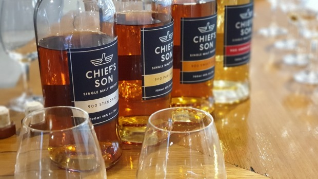 Chief's Son Distillery are the first single malt whisky makers on the Mornington Peninsula.