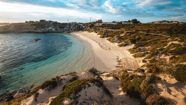 Sunrise at Fays Bay, Rottnest Island.