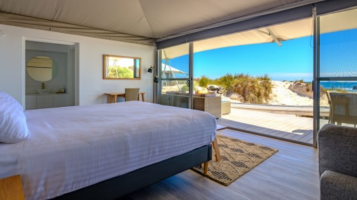 Eco-friendly accommodation on Rottnest Island.