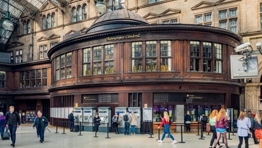 Glasgow's Grand Central Hotel.
