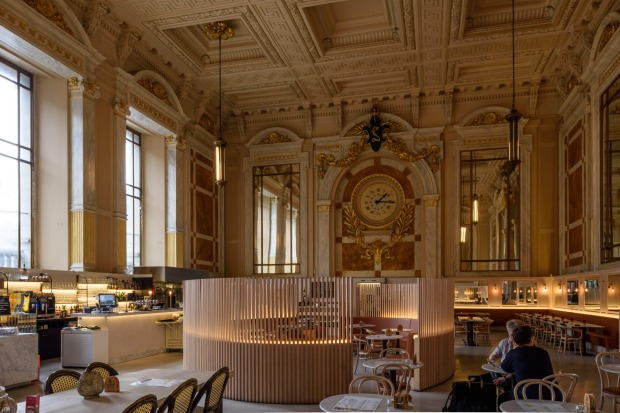 ANTWERP LE ROYAL CAFE  Belgium's Antwerp Central is considered one of the world's most stunning train stations. The ...