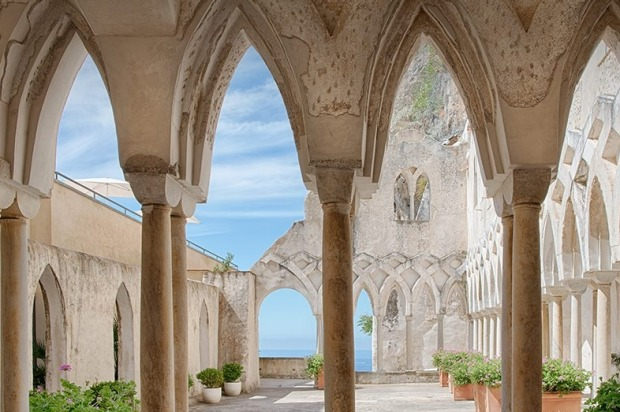 Grand Hotel Convento di Amalfi, Italy: Perched on an 80 metre cliff, with outrageous views of the Amalfi coast, the ...
