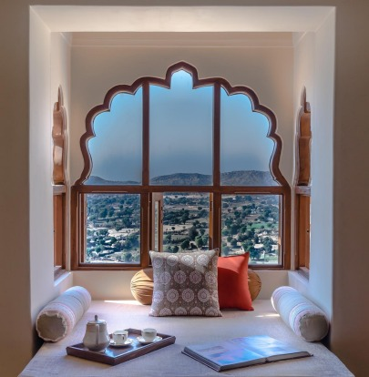 By Indian opulence standards, it's tastefully minimalist inside, drawing attention to the little details like the ...