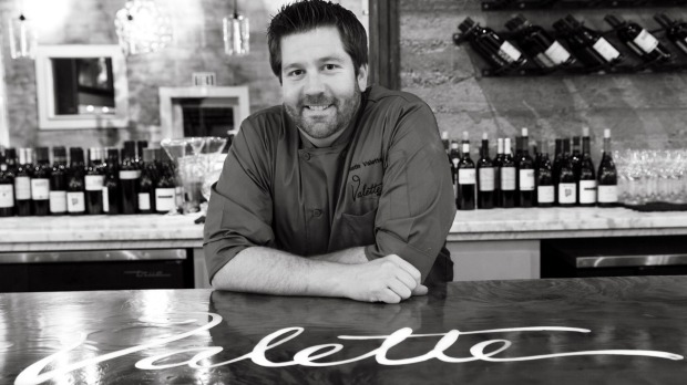 Dustin Valette, chef and owner of renowned restaurant Valette.