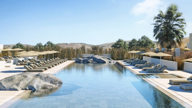 Parilio's glorious pool and sun deck invite long languid afternoons and sundowners.