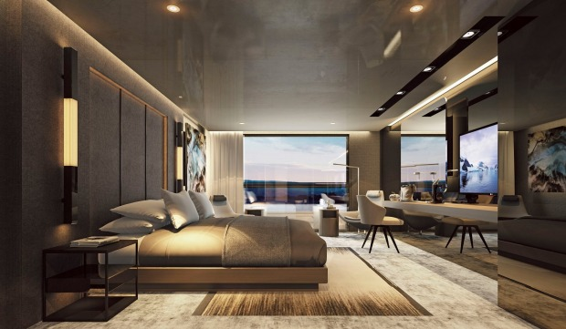 Owner's Penthouse Suite on Scenic Eclipse.