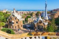 Guell Park features plenty of Antoni Gaudi's signature playful modernism, and is an idyllic place for a stroll.