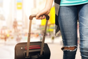 Cities like New York are not suitcase friendly.