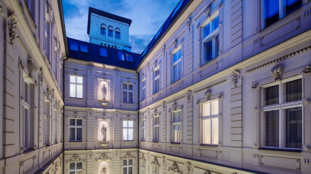 The Hotel Nemzeti is a heritage neoclassical architectural wonder.