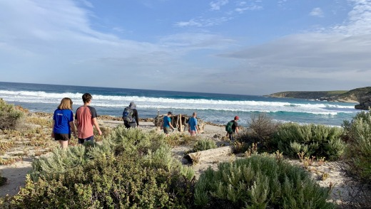 The Kangaroo Island Wilderness Trail, a 61-kilometre route around the south-west corner of South Australia's largest ...
