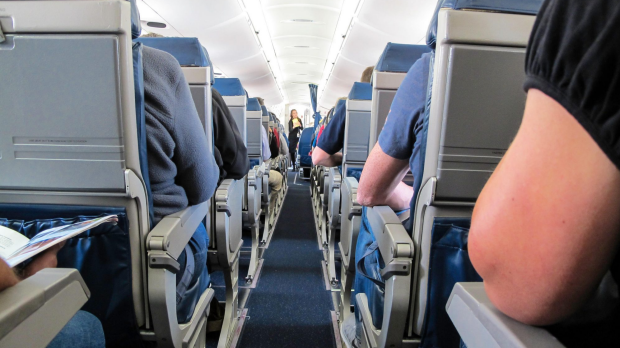 Which plane passengers are entitled to armrests, and what kind of human being hogs both?