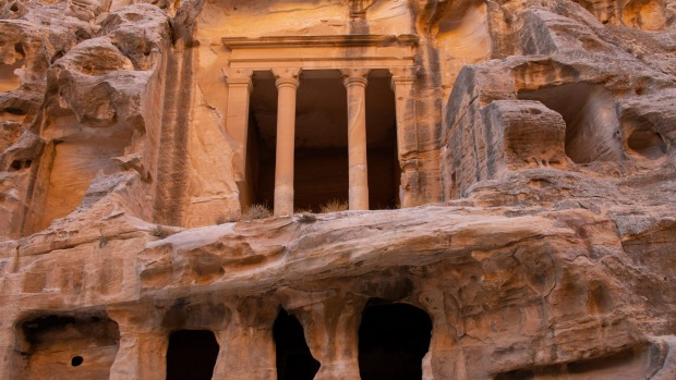 Jordan's Little Petra, or Siq al-Barid, a former Nabataean site from the first century.