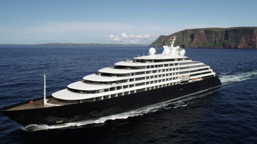 Scenic Eclipse carries two six-passenger helicopters and one six-passenger submarine for adventures off-ship.