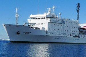 Seized by Russia: MV Akademik Ioffe.