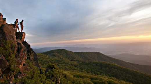 Shenandoah National Park is a great place to take advantage of Virginia's natural beauty.