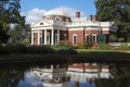 Monticello, the home of Thomas Jefferson, the third president of the United States.