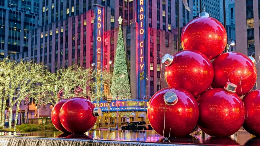 New York is a popular choice for Australians at Christmas.