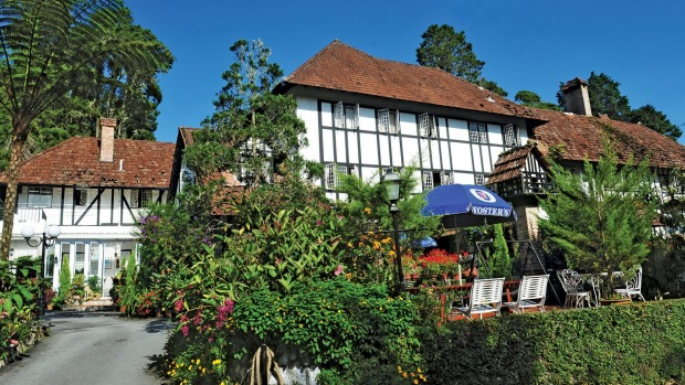 Ye Olde SmokeHouse Hotel in the Cameron Highlands.