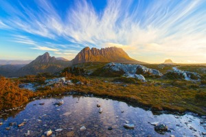 Outdoor heaven: Tasmania's specular Cradle Mountain.