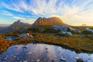 Tasmania's spectacular Cradle Mountain.