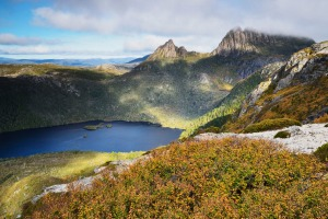 Cradle Mountain and Dove Lake, Tasmania.