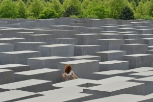 Memorial to the Murdered Jews of Europe  in Berlin.