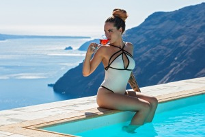 Santorini is one of the most popular destinations for insta-influencers.