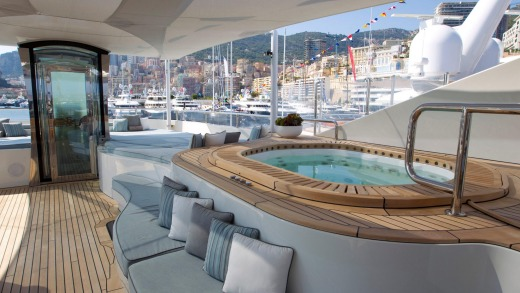 The Monaco Yacht Show with superyacht Latitude from Fraser Yachts.
