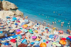 Yes it's charming to be on the beach in Spain – but not with everyone else.