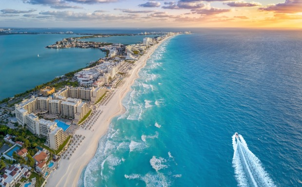 Cancún, Mexico: Cancún's transformation from nothing to all-conquering Caribbean tourist resort started in the 1970s as ...