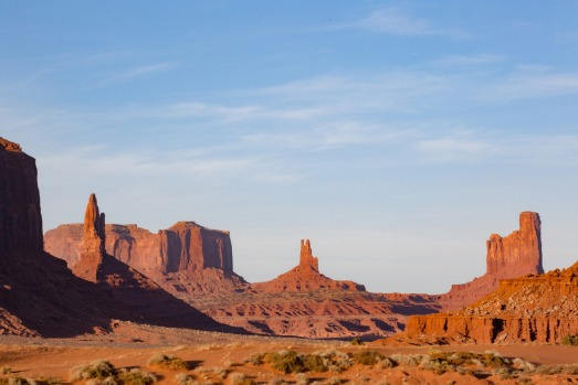 MONUMENT VALLEY TRIBAL PARK: Located in the remote south-eastern corner of Utah bordering Arizona, Monument Valley has ...