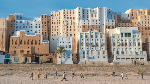 The town of Shibam, Yemen, boasts 500 mud-brick towers of between five and 11 storeys. They are arguably the world's ...