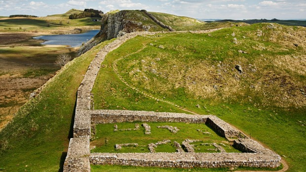 If you don't fancy trekking along Hadrian's Wall, take the bus.